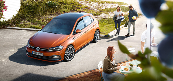 New Polo Eye-catching, from all angles.