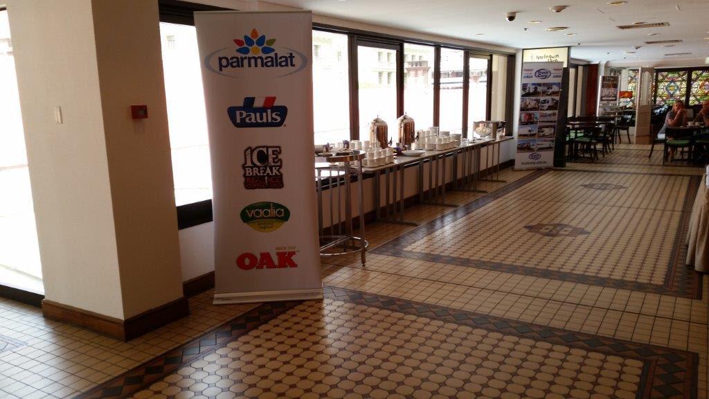 Truck Corp sponsors Parmalat morning tea