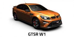 New HSV GTSR W1