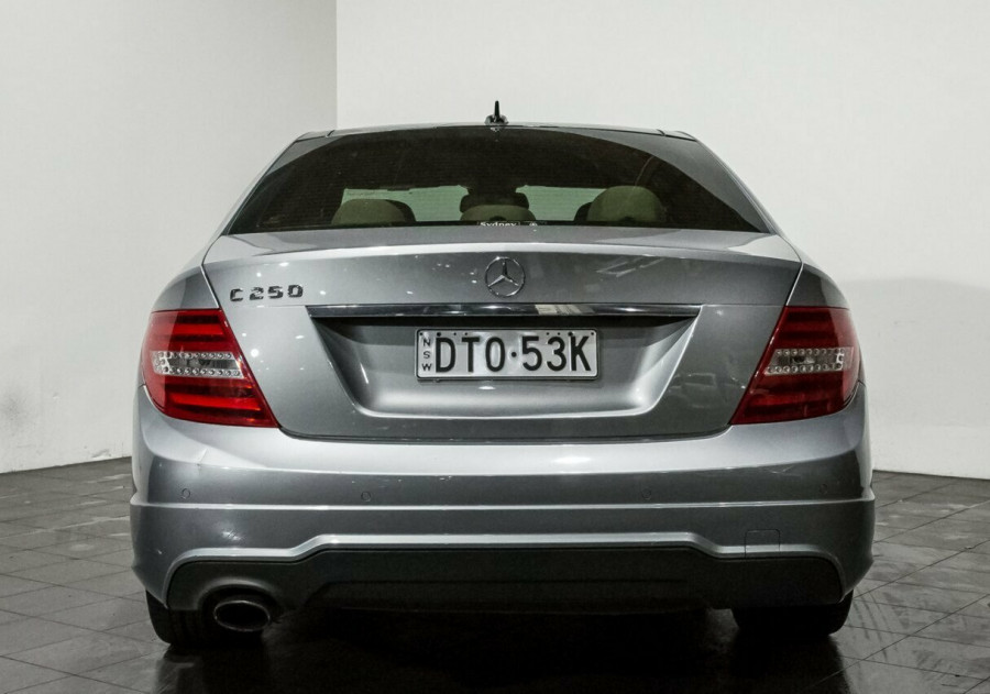 2012 Mercedes-Benz C250 W204 MY12 BlueEFFICIENCY 7G-Tronic + Avantgarde Sedan