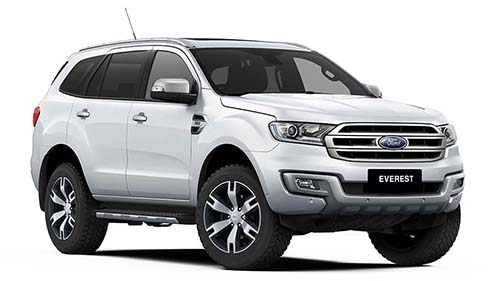 2017 Ford Everest UA Titanium 4WD Wagon
