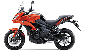 2016 Versys 650L ABS Long Travel Suspension and Sporty 17-inch Wheels