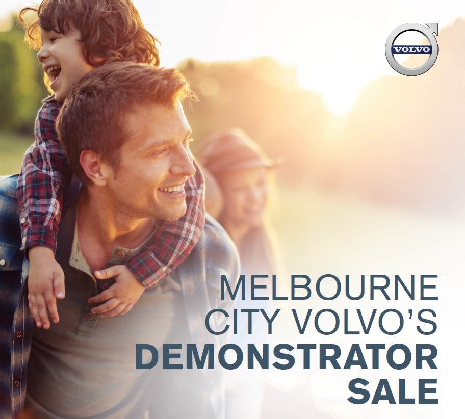 melbourne city volvo demonstrator sale on now
