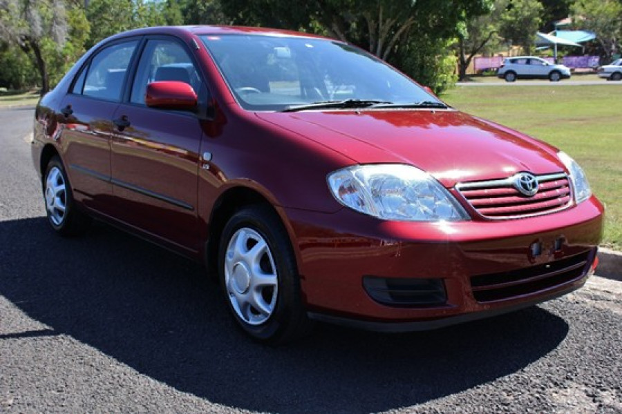 2006 toyota corolla zze122r 5y ascent sedan for sale in nambour crick auto group. Black Bedroom Furniture Sets. Home Design Ideas