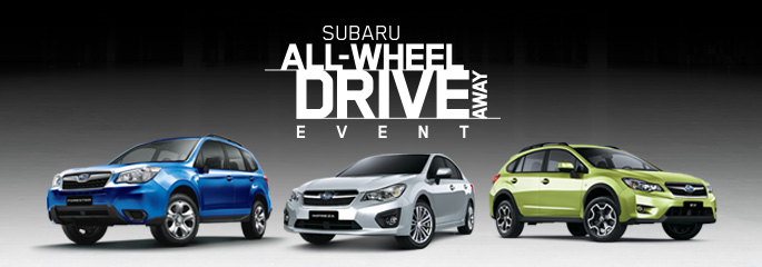 SUBARU ALL-WHEEL DRIVEAWAY EVENT
