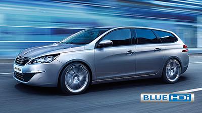 308 Touring BlueHDi Diesel Engine