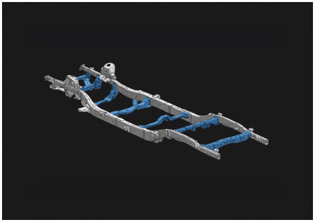 D-MAX Impact absorbing chassis