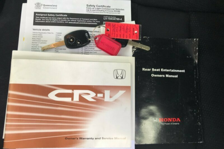 2010 Honda CR-V RE MY2010 Sport 4WD Wagon