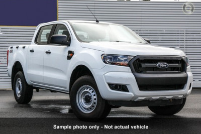 Ford Ranger 4x4 XL PLUS Double Cab Chassis 3.2L PX MkII