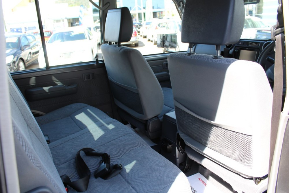 2015 Toyota Landcruiser VDJ79R GXL Cab chassis - dual cab