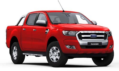 2017 MY18 Ford Ranger PX MkII 4x2 XLT Double Cab Pickup 3.2L Hi-Rider Utility