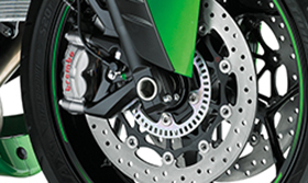 2016 Ninja ZX-14R Special Edition Brembo Ohlins Brembo M50 Monobloc Calipers