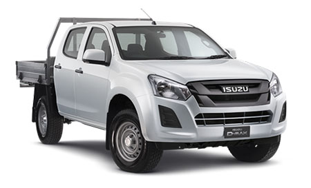 2017 Isuzu UTE D-MAX 4x4 SX Crew Cab Chassis Double cab/chassis