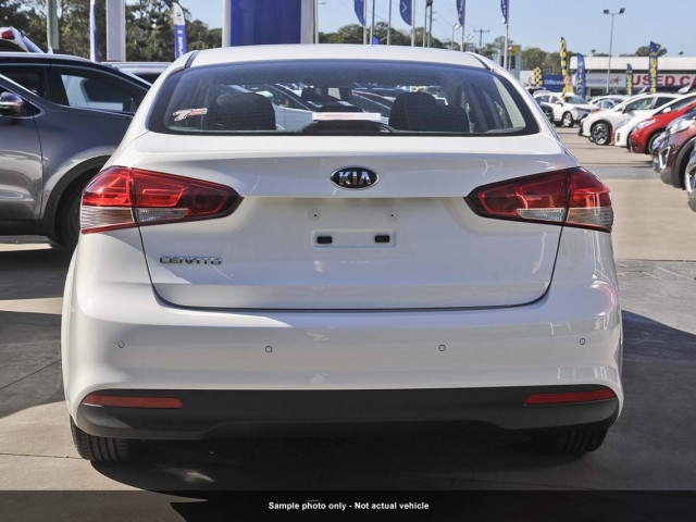2017 MY18 Kia Cerato Sedan YD S with AV Sedan
