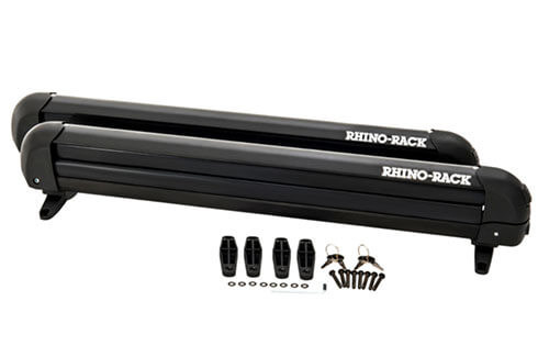 Rhino-Rack locking ski and snowboard carrier 6 skis