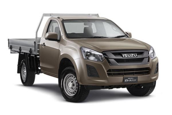Isuzu UTE D-MAX 4x4 SX Single Cab Chassis MY17