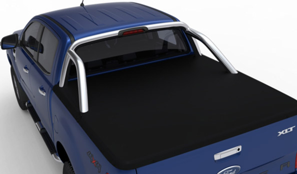 "<img src=""Tonneau Cover - Soft - Super Cab - with tubeless sports bar"