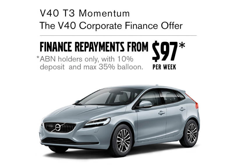 the v40 corporate finance offer
