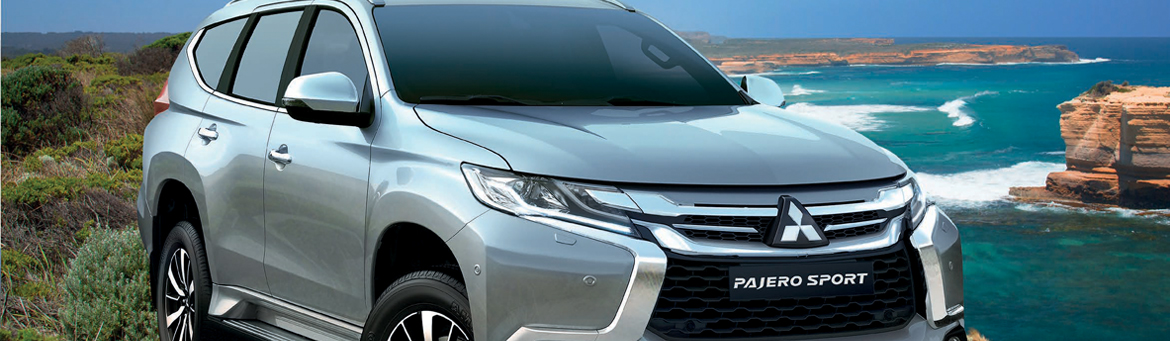 The Pajero Sport, Mitsubishi's latest 4x4 wagon, is ready to take you everywhere.