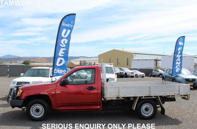2008 Holden Colorado RC DX Cab chassis - single cab