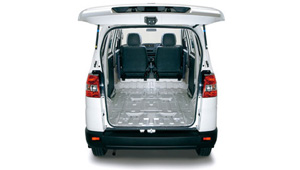 APV Spacious cargo capacity