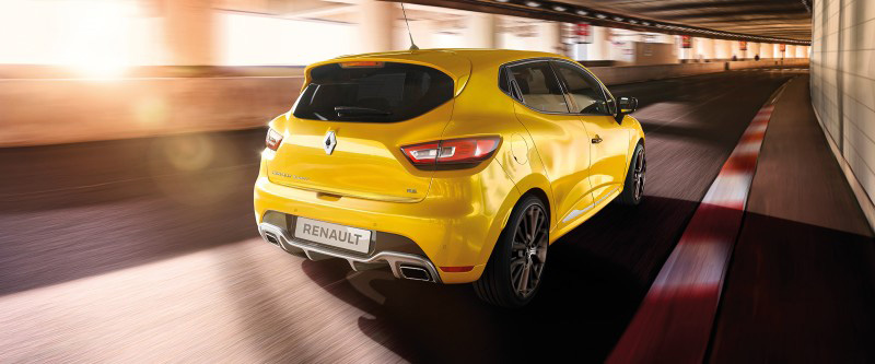 Clio R.S. Signature Renault Sport Liquid Yellow metallic paint