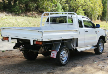 2013 MY12 Toyota Hilux KUN26R MY12 SR Xtra Cab Cab chassis