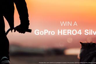 Win a GoPro Hero4 Silver!