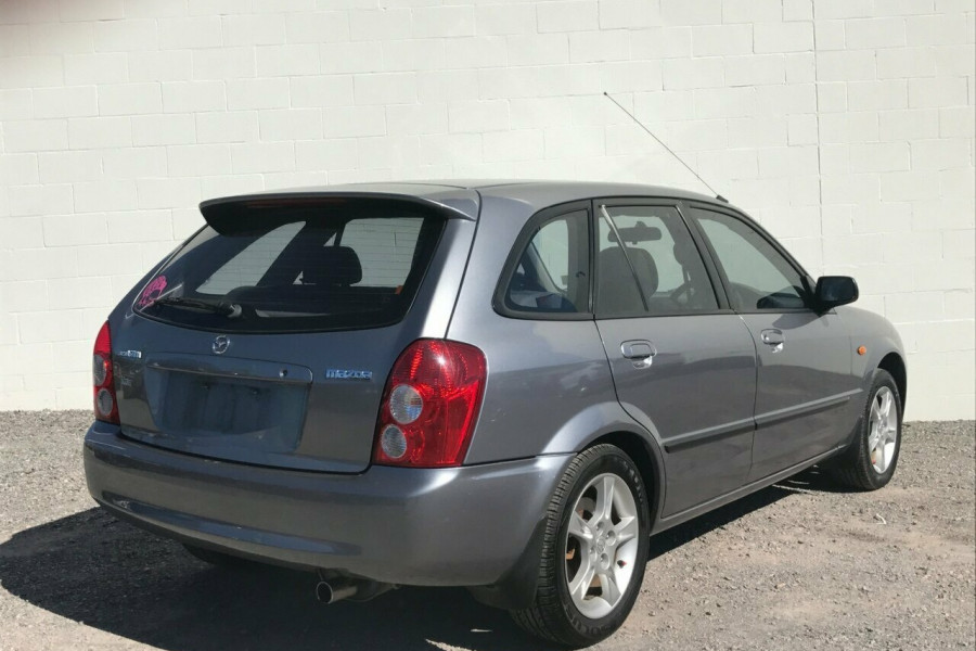2003 mazda 323 bj ii j48 astina hatchback for sale in sunshine coast sunshine coast nissan. Black Bedroom Furniture Sets. Home Design Ideas