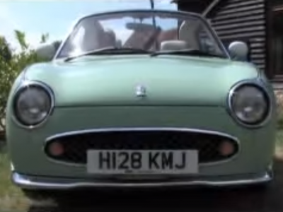 Watch a Nissan Figaro TV Commercial