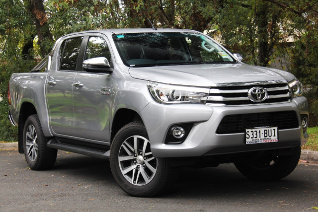 2018 Toyota HiLux GUN SR5 4x4 Double-Cab Pick-Up Utility