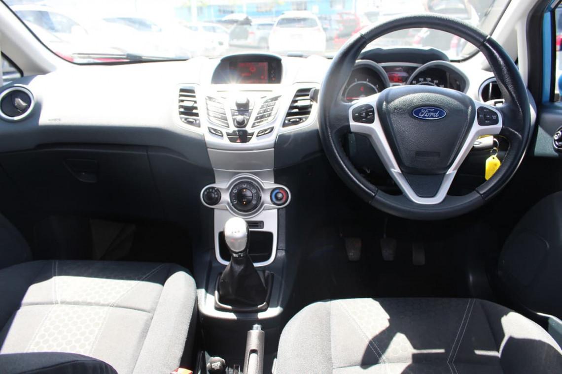 2010 Ford Fiesta WS ZETEC Hatchback