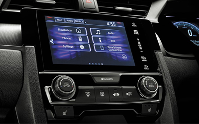 7-inch touchscreen display