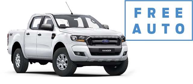 Ranger 4x4 XLS Double Cab Pick-Up 3.2L Diesel