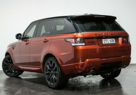 2015 MY15.5 Land Rover Range Rover Sport L494 15.5MY SDV6 CommandShift HSE Wagon