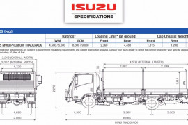 2017 Isuzu N Series NPR 45/55-155