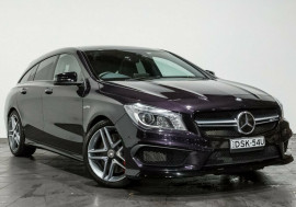 Mercedes-Benz CLA45 AMG Shooting Brake SPEEDSHIFT DCT 4MATIC X117 806MY