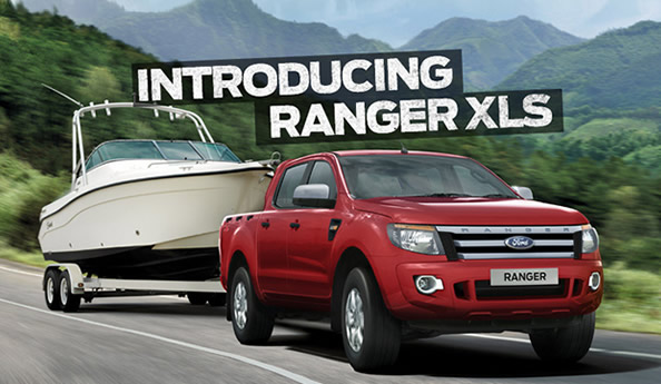 The New Ford Ranger XLS is now available at Q Ford Brisbane