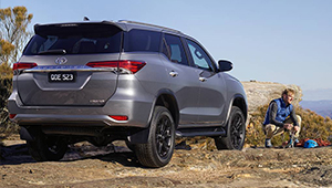 Fortuner In town or off road, Fortuner's tough to the task.