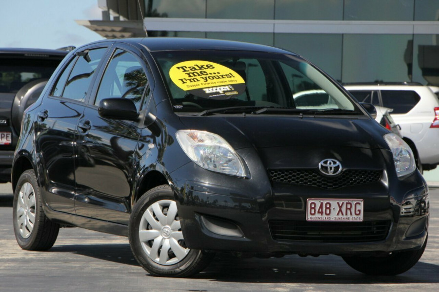 2010 MY11 Toyota Yaris NCP90R MY11 YR Hatchback