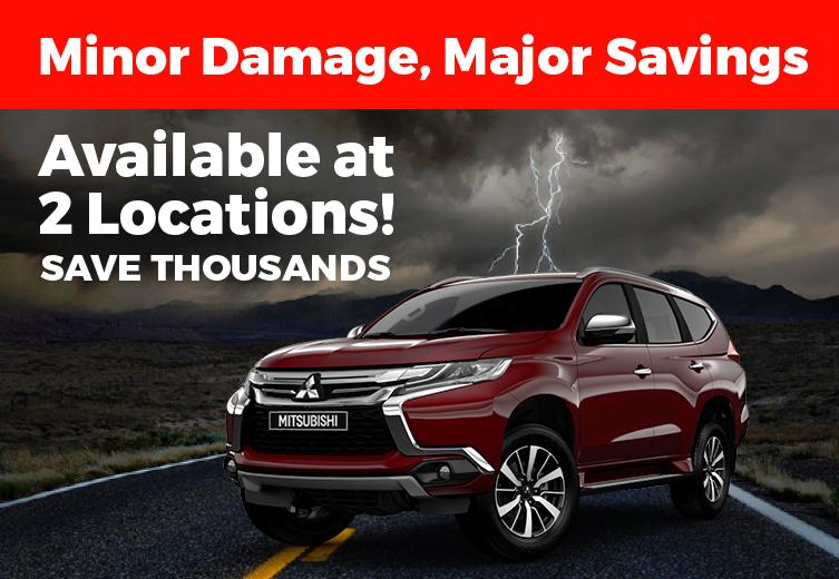 Hail Damage Mitsubishi Sale