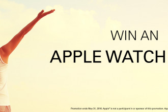 Win an Apple Watch Sport!
