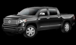 New Toyota Tundra Platinum