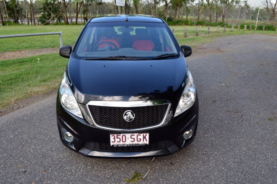 2012 Holden Barina Spark MJ  CD Hatchback