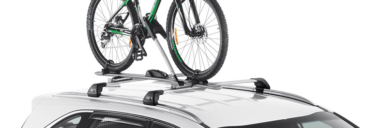 "<img src=""Roof Bicycle Carrier - Frame Mount"
