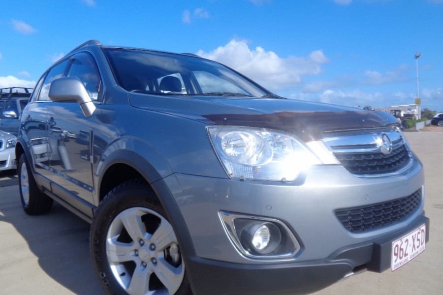 2011 MY10 Holden Captiva CG  5 Wagon