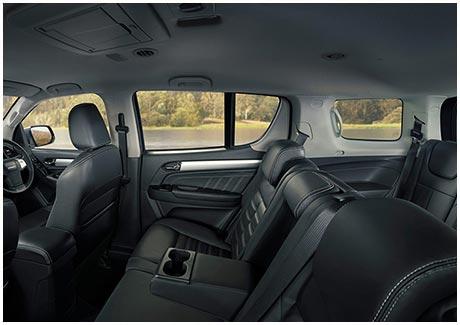 MU-X Interior Space & Comfort