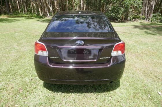 2012 Subaru Impreza G4  2.0i Sedan