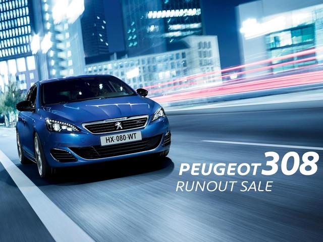 Peugeot 308 Runout Sale