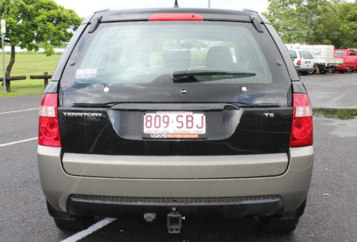 2005 Ford Territory SX TS RWD Wagon